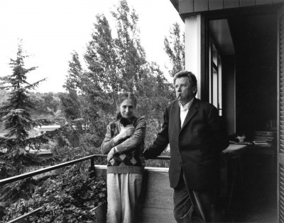 Happy 85th birthday to Jean-Marie Straub here with Danièle Huillet 8.01.jpg